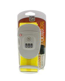 Go Travel TSA Combination Strap - Yellow