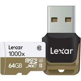 Lexar 64GB Professional 1000x Micro SD Card