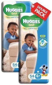 Huggies - Gold Boy (Size: 4+)- 54 Per Pack