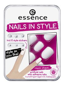 Essence Nails In Style 01 White