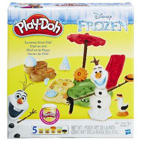 Play Doh Summertime Olaf