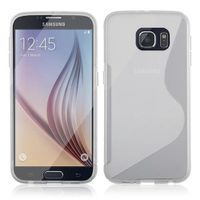 Clear Streamline Silicone Gel Tpu Skin Cover Case For Samsung Galaxy S7
