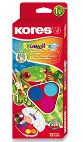 Kores Akuarellas Jumbo Watercolours - 12 Pods