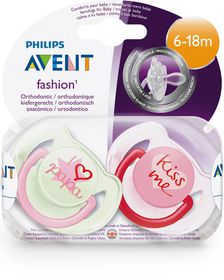 Philips Avent - Soother Fashion Mom and Dad (Size: 6 - 18 months)