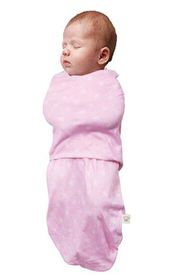 Clevamama - Swaddle Pink Bag (Size: 0 - 3 months)