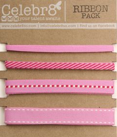 Celebr8 Ribbon Pack - Pink
