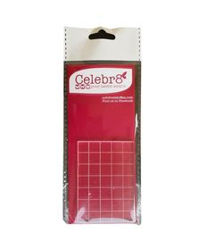 Celebr8 Acrylic Stamping Block (70mm x 50mm)