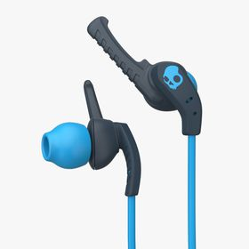 SkullCandy Xtplyo Sports Earphones with Mic 1 - Navy Blue