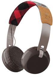 SkullCandy Grind Bluetooth Wireless Earphones - Tan/Camo/Brown