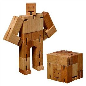 Cubebot - Natural Small Cubebot