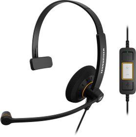 Sennheiser SC30 USB ML Monaural UC Headset - Black