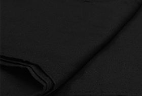 Phottix Black Seamless Photographic Backdrop Muslin 3x6m