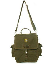 G7 WW2 Messenger Bag 36cm - Military Green