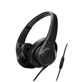 Audio Technica SonicFuel Headphones with Remote & Mic - Black