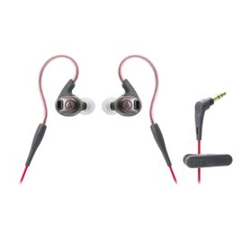 Audio Technica SonicSport In-Ear Headphone - Red