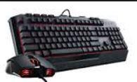 Coolermaster Devastator II Gaming Combo - Red LED
