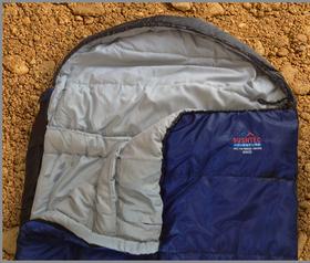 Bushtec - 300 CD Oversize Sleeping Bag - Blue