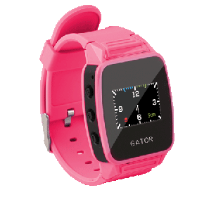 Caref 2 Kids Gps Tracking Watch - Pink