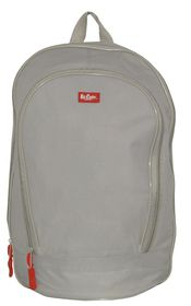 Lee Cooper Student Backpack- Small - Grey
