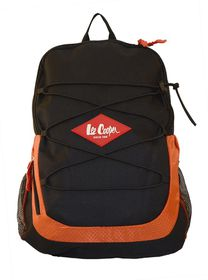 Lee Cooper Rip Stop Multi Purpose Backpack- Black