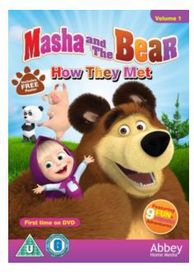 Masha and the Bear: How They Met (DVD)