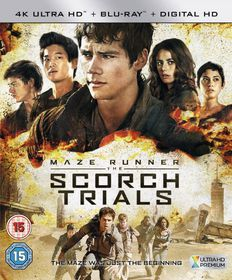Maze Runner: Chapter II - The Scorch Trials (4K Blu-ray)