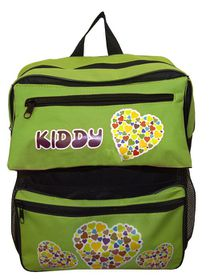 Parco Kiddy Heart Backpack - Green