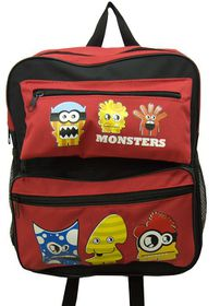 Parco Kiddy Monster Backpack - Red