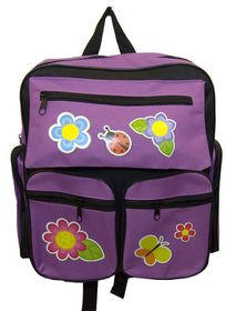 Parco Kiddy Butterfly Backpack - Purple