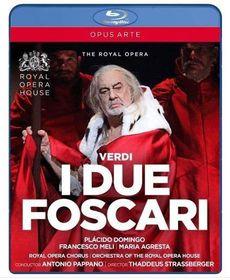 I Due Foscari: Royal Opera House (Pappano) (Blu-Ray)
