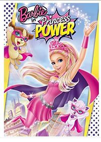 Barbie in Princess Power - (Region 1 Import DVD)