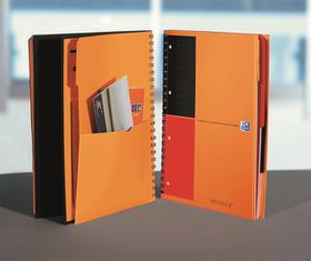 Oxford International A4 - Ruled Filing Book