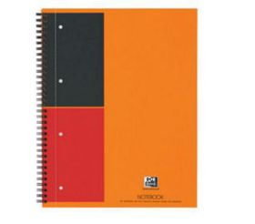 Oxford International A4 Ruled Notebook
