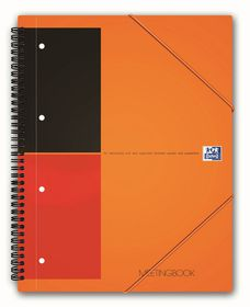 Oxford International A4 - Ruled Meeting Book