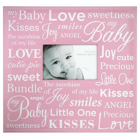 MCS 12x12 Postbound Album - Baby Pink