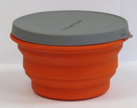 LeisureQuip - Foldaway Silicone Container with Lid - 500ml