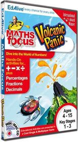 Numbers Up! Volcanic Panic (Maths Focus) (PC)