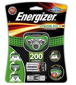 Energizer - Vision HD & Headlight 200 Lumens - Green
