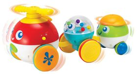 Winfun - Pull Along Bubble Pals