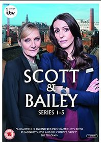 Scott and Bailey: Series 1-5 (DVD)