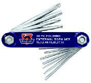 Fragram - Folding Torx Keys - 10 Piece