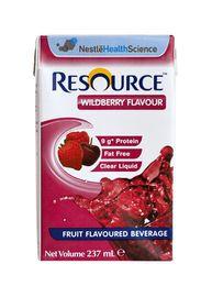 Nestle Resource Fruit Flavoured Beverage - Wild berry Flavour - 261.5g