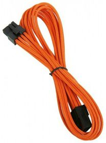 BitFenix Dual Tone Orange / Black 8-Pin 45cm VGA Power Extender Cable