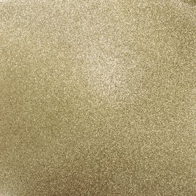Kaisercraft 12 x 12 Glitter Cardstock - Champagne (5 Sheets)