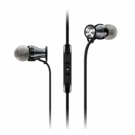 Sennheiser MOMENTUM M2 In-Earphones for iPhone - Black Chrome