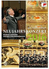 Mariss Jansons & Wienna Philharmonic - Neujahrskonzert / New Year'S Concert 2016 (DVD)