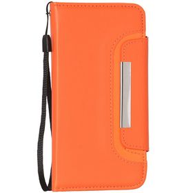 Tuff-Luv Slim 2-in-1 Removable Magnetic Wallet case for iPhone 6 / 6S - Orange