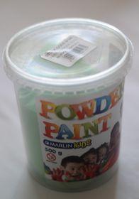 Marlin Kids Powder Paint 500g Bucket - Green