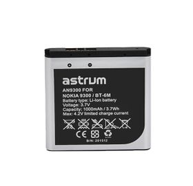 Astrum Replacement Battery for Nokia 9300 / BT-6M - AN9300