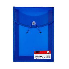 Meeco Expandable Document Envelope - Blue